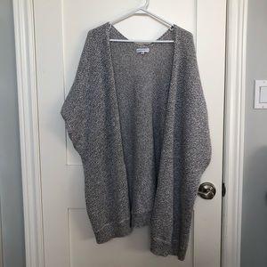 Aritzia Short Sleeve Knit Cardigan